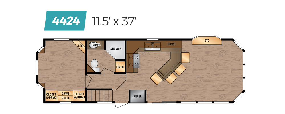Kropf Floor Plan 4424