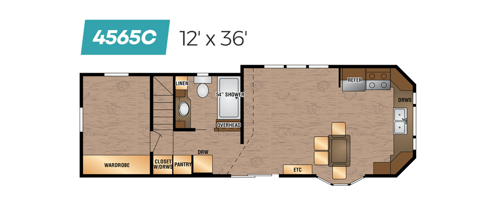 Kropf Floor Plan 4565C